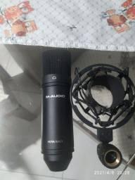 Microfone m-áudio nova