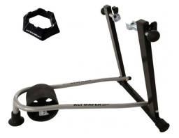 Kit Suporte Rolo Treino Bike + base niveladora