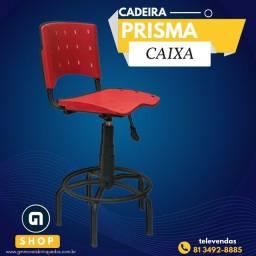 Cadeira caixa prisma em polipropileno
