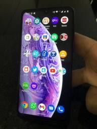 Motorola One Macro 64gigas 7 meses de uso sem marca.alguma ACEITA TROCA