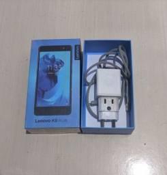 "Smartphone Lenovo K8 Plus 3+32GB Memoria 3GB RAM Dual 4g 5.2"" Preto<br><br>"