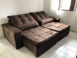 Sofa Retratil Reclinavel L 2,30m ////ZAP *