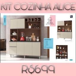 Armário de cozinha Alice armário de cozinha Alice armário armário de cozinha 000192