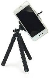 Tripé flexível para celular