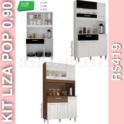 Armário de cozinha pop 0,90 armário de cozinha 0,90 armário armário 0010292929
