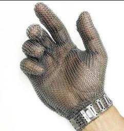 Luva de aço inox Nova G