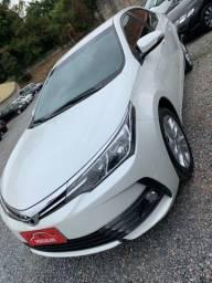 Título do anúncio: Corolla XEI branco perolizado 2018 único dono