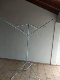 Varal Giratório 10 cordas em aço galvanizado