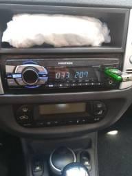 Som automotivo via BTF,USB,FM.