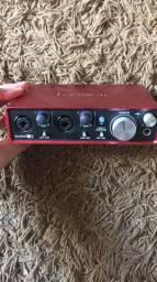 Interface focusritte scarlet 2i2