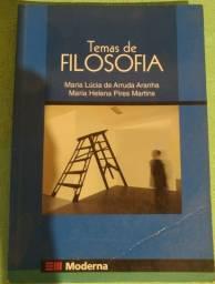 Livro Temas de Filosofia - Maria Lúcia de Arruda Aranha e Maria Helena Pires Martins