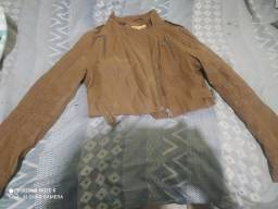 Jaquetas couro feminina