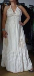 Vestido Novo Comprado em Fortaleza Bordado