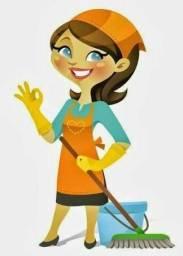 Ofereço meus serviços de limpeza