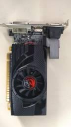Gforce 730GT 4GB de memória DDR5 - pouco uso