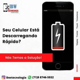 Troque a bateria do seu celular
