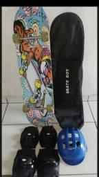 Kit Skate semi-novo