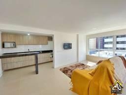 Apartamento c/ 3 Quartos - Praia Grande - 2 Vagas - Mobiliado - Novo