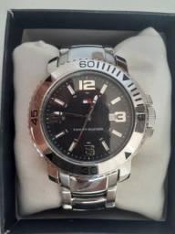 Relógio Tommy Hilfiger - Masculino Original Analogico Aço Inoxidavel