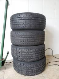 Vendo ou troco pneu triangle 195 50 r15