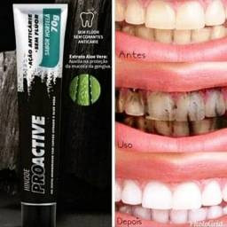 Gel Dental Branqueador Com Carvão Ativado