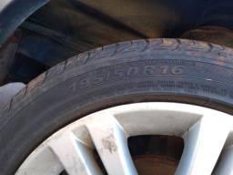 Vendo rodas 16 Vectra Gt com pneus novos.