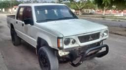 L 200 4X4 2002 Turbo Diesel Toda Original Funcionando Com Recibo e Documentos - 2002