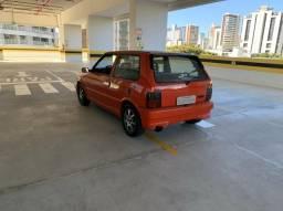 Uno turbo 1.4 i.e. Vermelho 95/96 completo. Sem teto - 1996