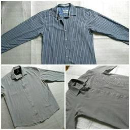 Camisas Sociais (P/M/G) por 15 reais cada