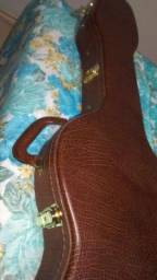 Case de madeira guitarra