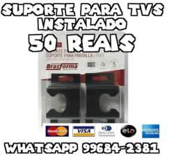 Suporte para TVs 4k Todas as Marcas Instalado
