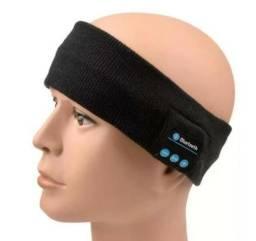 Fone De Ouvido Corrida Estilo Bandana Faixa Mp3 Bluetooth