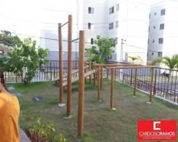 Apartamento para alugar com 2 dormitórios em Caji, Lauro de freitas cod:AP08490