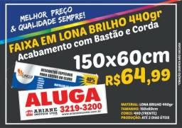 Faixa/Lona - 440gr