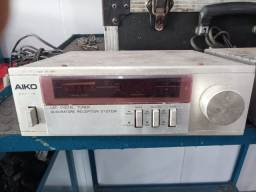 Conjunto Aiko pa 3000 tuner,tape deck e amplificador...