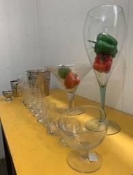 Copos, taças, tulipa, utensílios para restaurantes. TUDO!