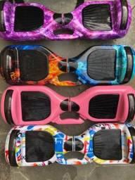 "Hoverboard Skate Elétrico Balance Wheel 6.5"" Bluetooth Música - NOVO"
