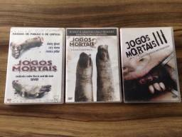 DVDs jogos Mortais