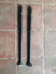 Semi eixos (par), de VW Fusca ou Brasilia, para caixa de 1300 4 furos
