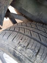4 pneus 265 65 17 semi novos