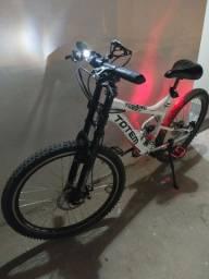 Bicicleta Totem Conforto Freios a Disco / Suspensão no Quadro na Frente e na Sela