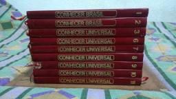 Enciclopédia Livro Brasil Conhecer Lotes 9 Unidades