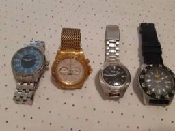 4 lindos relógios originais