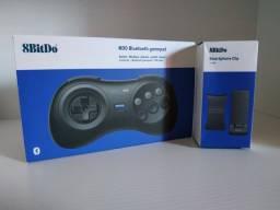 Gamepad [Controle] Bluetooth M30 8BitDo + Smartphone Clip