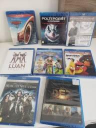 Blu rays novos e usados