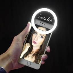 Mini Led Selfie - Iluminação melhor para sua selfie - Produto novo