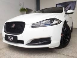 Jaguar XF 2.0 Luxury Turbocharged 2014/2015 Branco Blindado