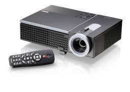 Projetor Dell 1610HD 3500 Lumens Hd 1280×800 Hdmi 3D Para Uso com Luz Garantia Parcelo NF