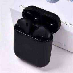 Fone De Ouvido Sem Fio I12 Tws Branco Com Bluetooth 5.0