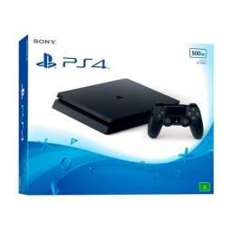 PS4 slim 500gb aceito cartão com garantia loja física